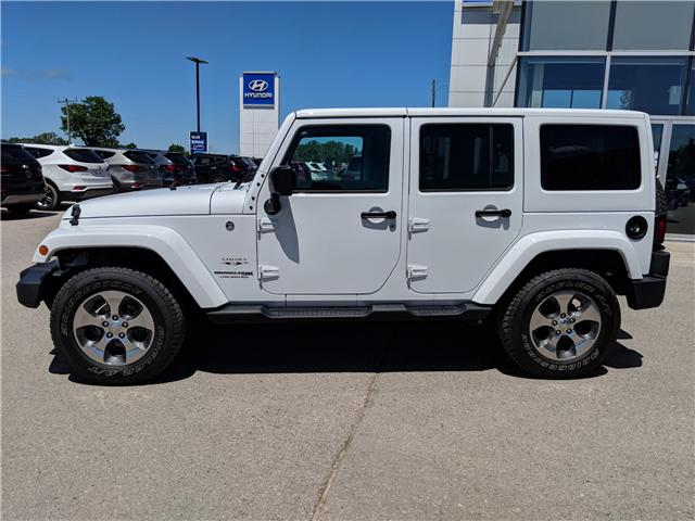 2018 Jeep Wrangler JK Unlimited Sahara (Stk: 85039) in Goderich - Image 2 of 14