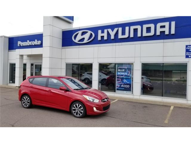 2015 Hyundai Accent SE (Stk: 18256-1) in Pembroke - Image 1 of 1