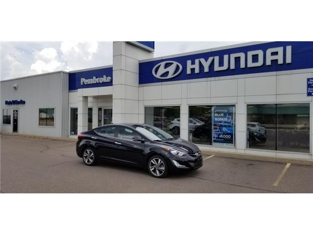 2015 Hyundai Elantra Limited (Stk: 18258-1) in Pembroke - Image 1 of 1