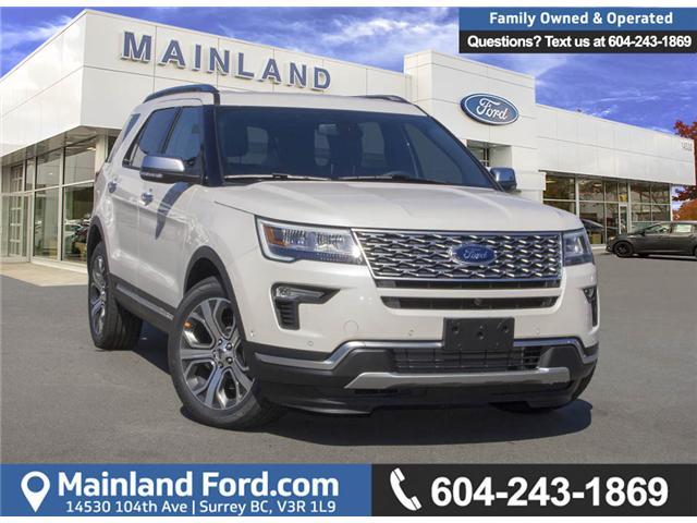 2018 Ford Explorer Platinum (Stk: 8EX9719) in Surrey - Image 1 of 27