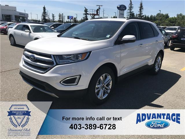 2018 Ford Edge SEL (Stk: J-1284) in Calgary - Image 1 of 5