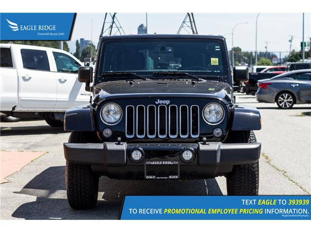 2017 Jeep Wrangler Unlimited Sahara (Stk: 178978) in Coquitlam - Image 2 of 16