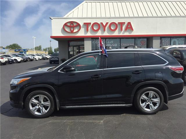 2015 Toyota Highlander  (Stk: 1806831) in Cambridge - Image 1 of 14