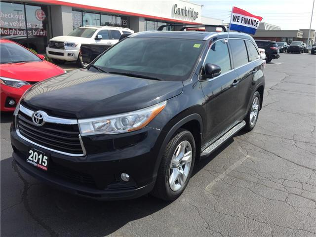 2015 Toyota Highlander  (Stk: 1806831) in Cambridge - Image 2 of 14