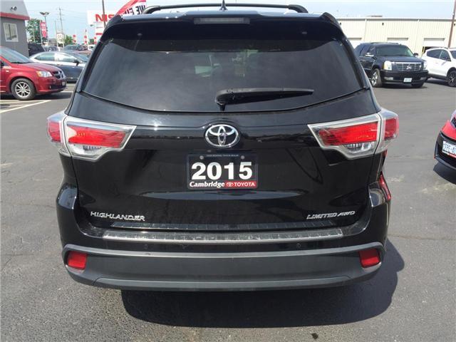 2015 Toyota Highlander  (Stk: 1806831) in Cambridge - Image 7 of 14