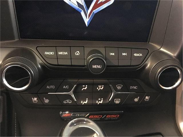 2018 Chevrolet Corvette Z06 3LZ (Stk: 1G1YU2) in BRAMPTON - Image 15 of 22