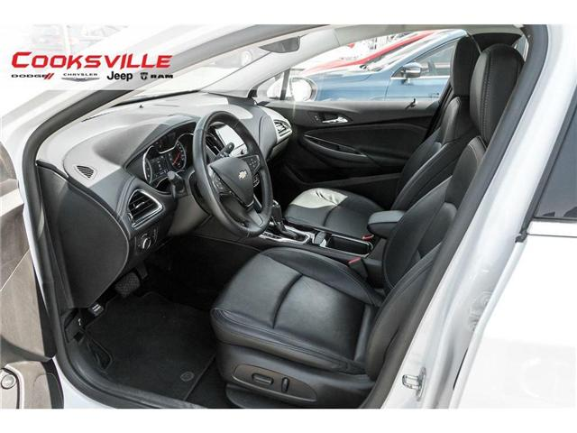 2017 Chevrolet Cruze Premier Auto (Stk: 7678PR) in Mississauga - Image 9 of 20