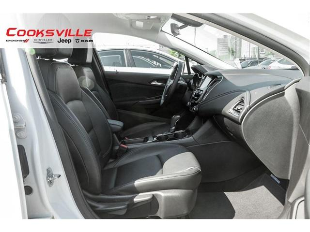 2017 Chevrolet Cruze Premier Auto (Stk: 7678PR) in Mississauga - Image 17 of 20