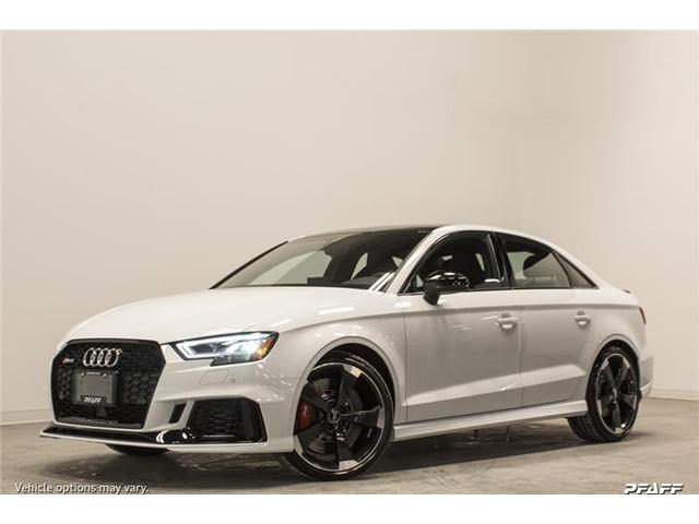2018 Audi RS 3 2.5T (Stk: T15319) in Vaughan - Image 1 of 7