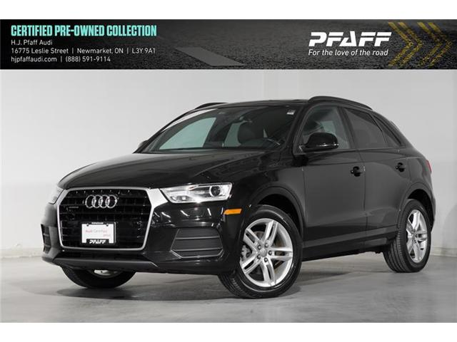 2016 Audi Q3 2.0T Komfort (Stk: A11103A) in Newmarket - Image 1 of 16
