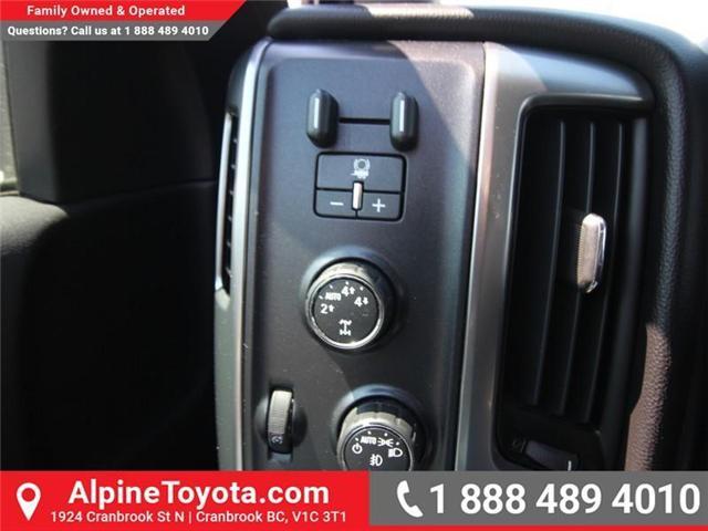 2015 Chevrolet Silverado 1500  (Stk: X035000A) in Cranbrook - Image 15 of 18