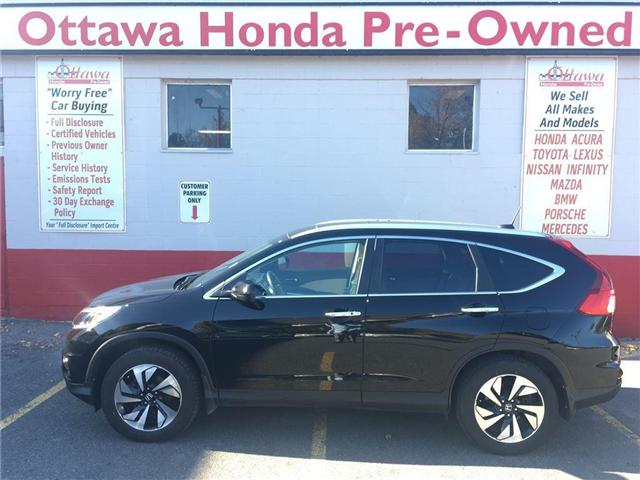 2016 Honda CR-V Touring (Stk: H6777-0) in Ottawa - Image 1 of 28