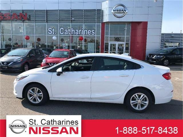 2017 Chevrolet Cruze LT Auto (Stk: P-2033) in St. Catharines - Image 1 of 18