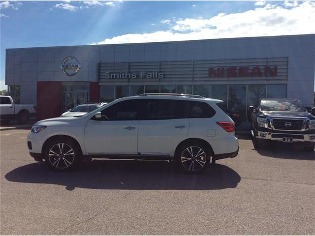 2017 Nissan Pathfinder Platinum (Stk: P1923) in Smiths Falls - Image 1 of 14