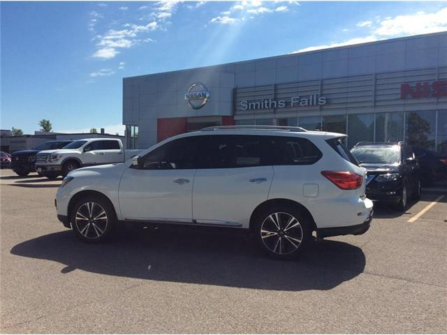 2017 Nissan Pathfinder Platinum (Stk: P1923) in Smiths Falls - Image 2 of 14
