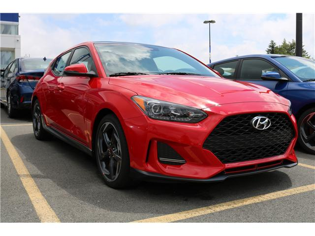 2019 Hyundai Veloster Turbo (Stk: 91227) in Saint John - Image 1 of 3