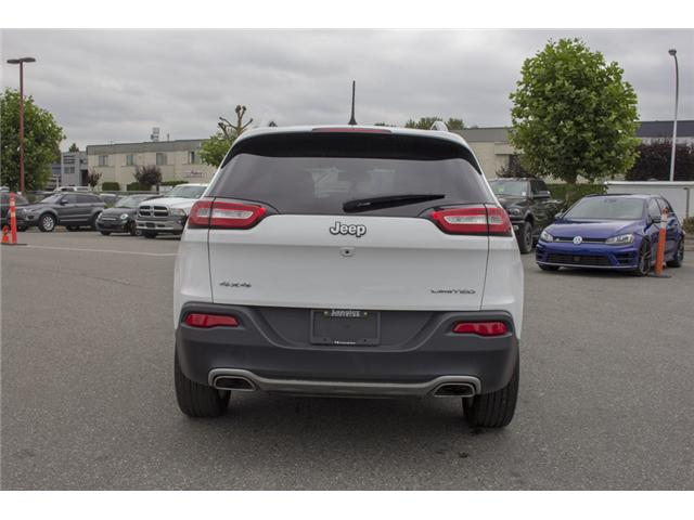 2017 Jeep Cherokee Limited (Stk: EE894070) in Surrey - Image 6 of 27