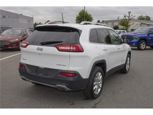2017 Jeep Cherokee Limited (Stk: EE894070) in Surrey - Image 7 of 27
