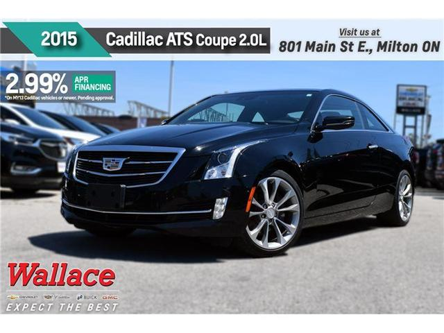 2015 Cadillac ATS 2.99% FINANCE UP TO 60MNTHS/SUNRF/RED LTHR STS/NAV (Stk: PR4669A) in Milton - Image 1 of 21