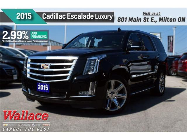 2015 Cadillac Escalade 2.99% FINANCE UP TO 60MNTHS/LUXURY/SUNRF/NAV (Stk: PR4698) in Milton - Image 1 of 23