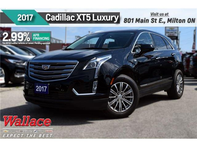 2017 Cadillac XT5 LUXURY/2.99% FINANCE UP TO 60MNTHS/AWD/SUNRF (Stk: PL5128) in Milton - Image 1 of 5