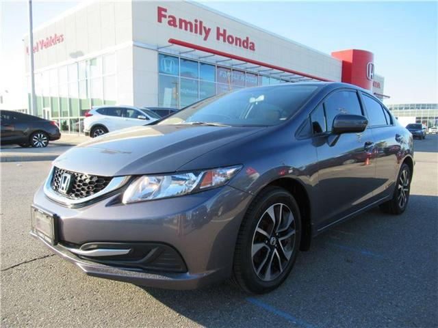 2015 Honda Civic EX, 4 BRAND NEW TIRES! (Stk: 8001768A) in Brampton - Image 1 of 28