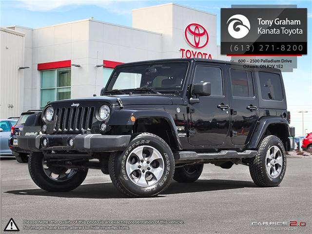 2016 Jeep Wrangler Unlimited Sahara (Stk: 88683A) in Ottawa - Image 1 of 26