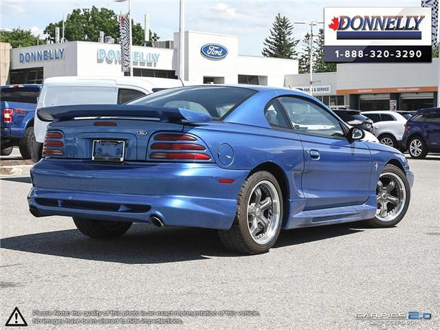 1995 Ford Mustang  (Stk: PBWDR1000B) in Ottawa - Image 4 of 28