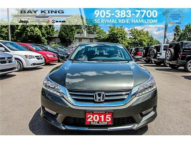 2015 Honda Accord Touring (Stk: 6527A) in Hamilton - Image 2 of 17