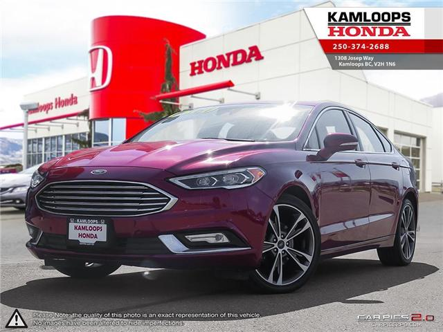 2017 Ford Fusion Titanium (Stk: 14006A) in Kamloops - Image 1 of 25