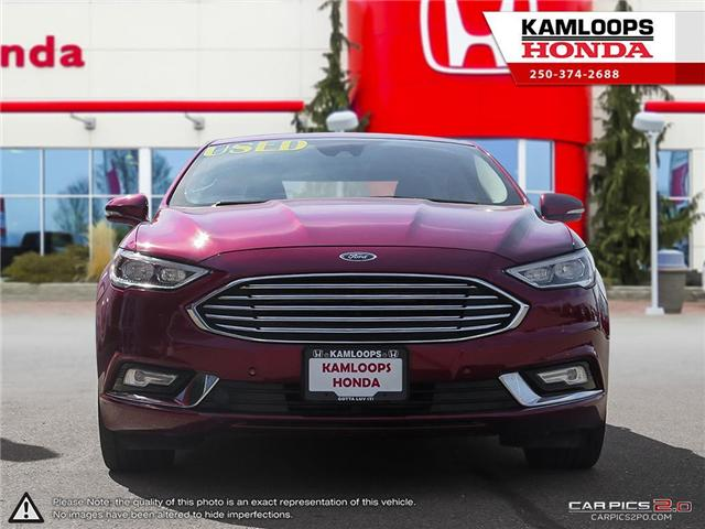 2017 Ford Fusion Titanium (Stk: 14006A) in Kamloops - Image 2 of 25