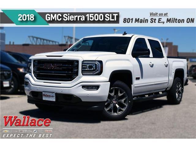 2018 GMC Sierra 1500 SLT (Stk: 430991) in Milton - Image 1 of 11