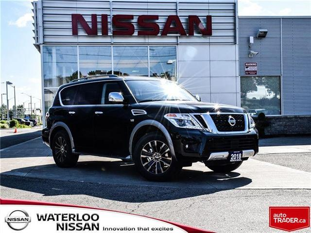2018 Nissan Armada Platinum (Stk: 18425) in Waterloo - Image 1 of 23