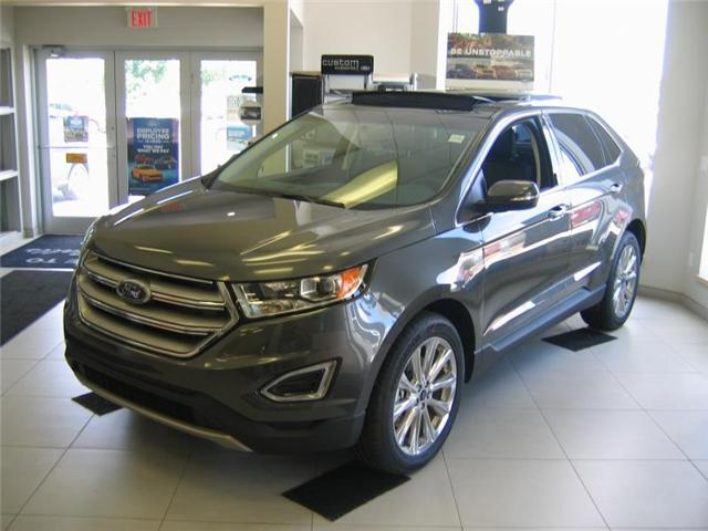 2018 Ford Edge Titanium (Stk: 18218) in Smiths Falls - Image 1 of 7