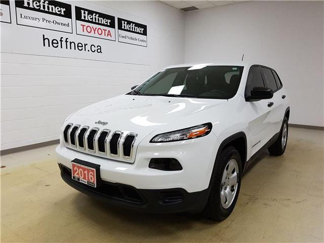 2016 Jeep Cherokee Sport (Stk: 185805) in Kitchener - Image 1 of 20