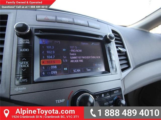 2013 Toyota Venza Base V6 (Stk: R042237A) in Cranbrook - Image 10 of 13