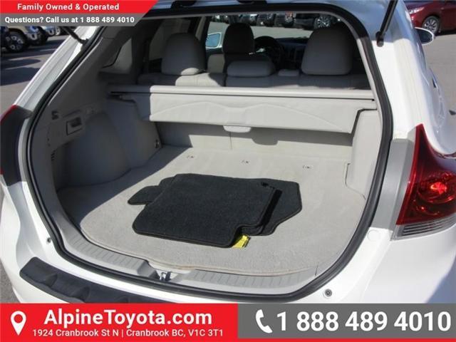 2013 Toyota Venza Base V6 (Stk: R042237A) in Cranbrook - Image 12 of 13