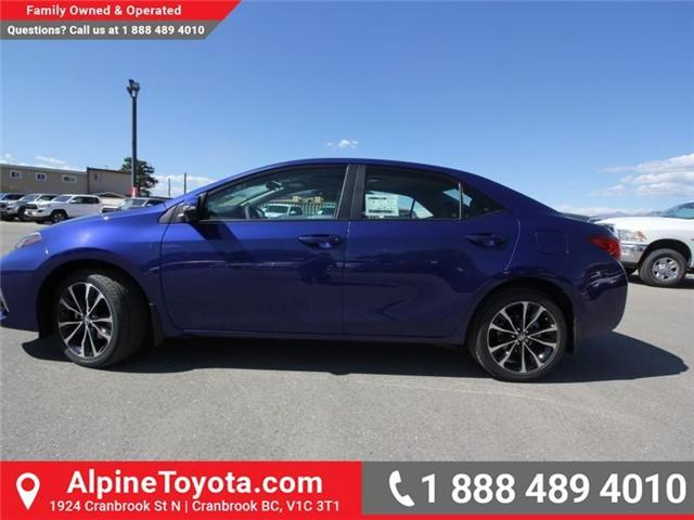 2019 Toyota Corolla SE Upgrade Package (Stk: C141288) in Cranbrook - Image 2 of 16