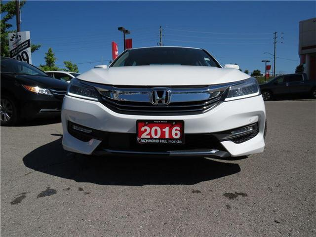 2016 Honda Accord Touring (Stk: 180995P) in Richmond Hill - Image 2 of 21
