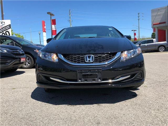 2014 Honda Civic LX (Stk: 181169P) in Richmond Hill - Image 2 of 14