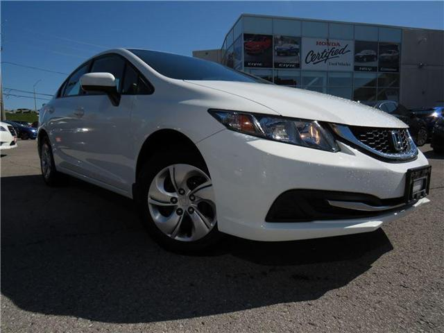 2015 Honda Civic LX (Stk: 181411P) in Richmond Hill - Image 1 of 15