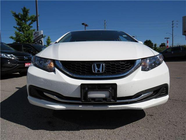 2015 Honda Civic LX (Stk: 181411P) in Richmond Hill - Image 2 of 15