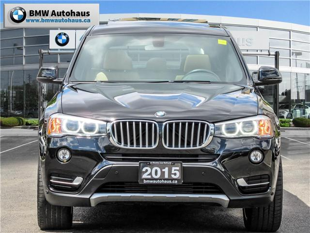 2015 BMW X3 xDrive28i (Stk: P8418) in Thornhill - Image 2 of 27