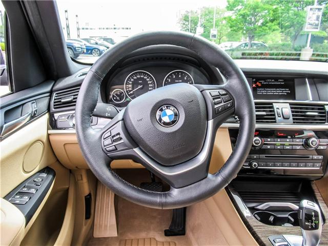 2015 BMW X3 xDrive28i (Stk: P8418) in Thornhill - Image 13 of 27