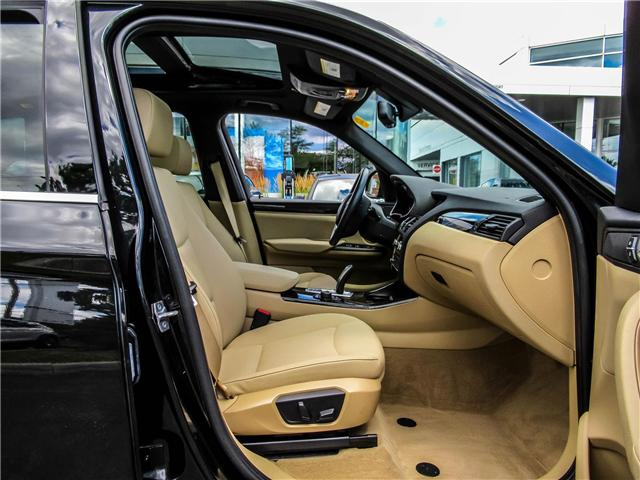 2015 BMW X3 xDrive28i (Stk: P8418) in Thornhill - Image 17 of 27