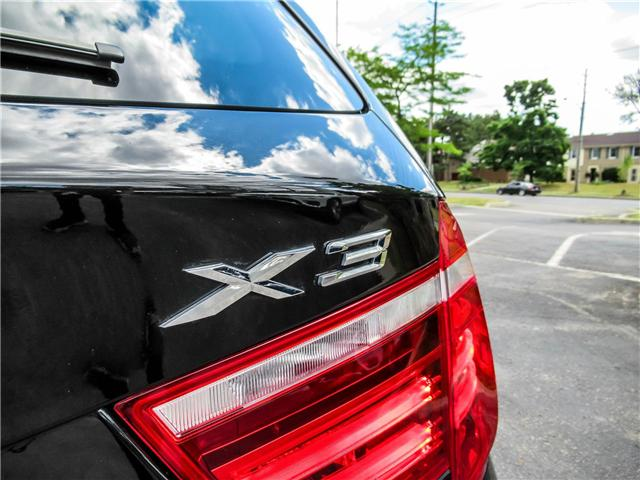 2015 BMW X3 xDrive28i (Stk: P8418) in Thornhill - Image 21 of 27