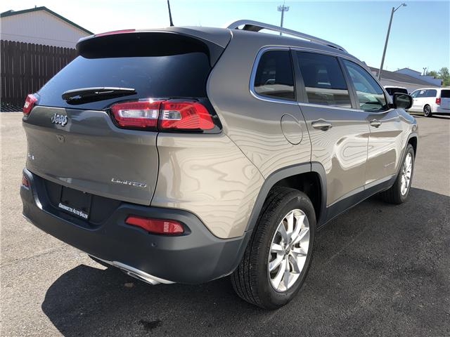 2017 Jeep Cherokee Limited (Stk: 768) in Oromocto - Image 9 of 27