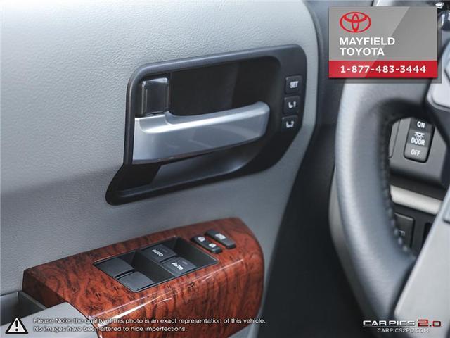 2018 Toyota Sequoia Platinum 5.7L V8 (Stk: 180235) in Edmonton - Image 14 of 20