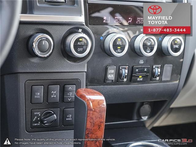 2018 Toyota Sequoia Platinum 5.7L V8 (Stk: 180235) in Edmonton - Image 16 of 20