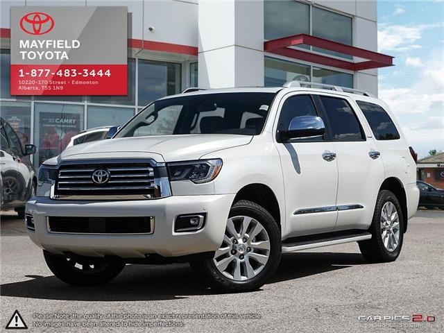 2018 Toyota Sequoia Platinum 5.7L V8 (Stk: 180325) in Edmonton - Image 1 of 20